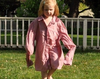 The Madeline- halter sundress/ dress upcycled from your button-down shirt, 6 mo, 1yr, 2t, 3t, 4t, 5t, 6, 7, 8, 9