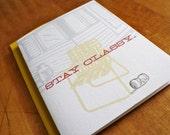 Stay Classy - Trashy Card