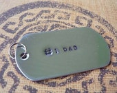 Military dog tag / personalized by you
