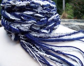 Crochet scarf, NAVY SKY Scarf - Navy, Gray, Silver and White, Skinny Scarfs Womens Scarves