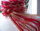 Crochet Scarf - SAN FRANCISCO 49ers Pippy Scarf