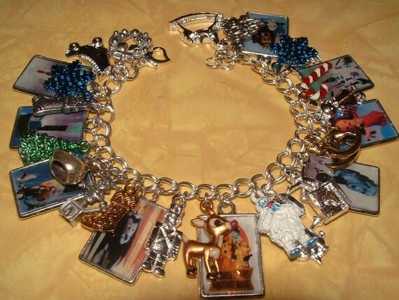 Island of Misfit Toys Altered Art Charm Bracelet