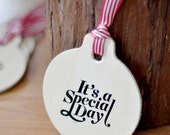 Wooden Gift Tags / Decorated Tags