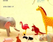 Handmade Felt Animals - Japanese craft book