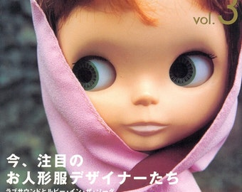 Out-of-print Blythe Collection 15 - Dolly Dolly 3 - Japanese craft book