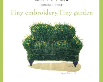 Out-of-print Master Collection Kazuko Aoki 04 - Tiny Embroidery Garden - Japanese embroidery craft book