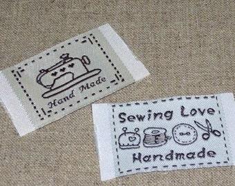 Sewing Fabric Tag Set
