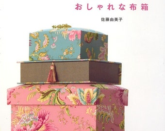 Le cartonnage, the French Box - Japanese craft book