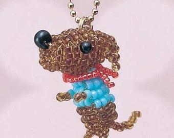 Dachshund Japanese bead kit