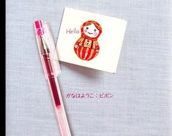 Creative Ball Pen Art 01 - Japanese craft book