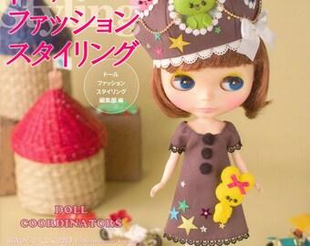 Blythe Doll Fashion Styling - Japanese craft book