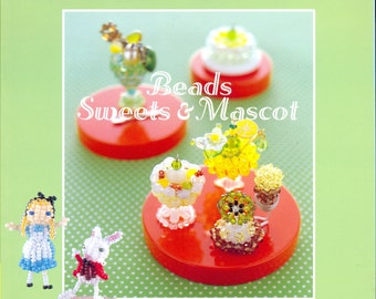 Beads Sweets and Mascot - Japanese craft book