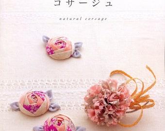 Natural Corsage - Japanese craft book