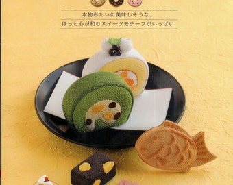 Cotton and Linen Stuffed Dessert - Japanese craft book