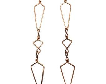 Geometric Spotlight Earrings