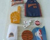 Official NBA Team Stickers - GOLDEN State WARRIORS, Number 1 fan, Basketball, Boy, Summer, Tickets