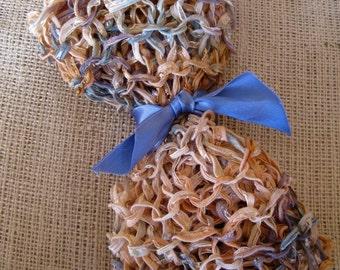 BEIGE Ribbon Wrap--Seashell-- Great Newborn Photography Prop