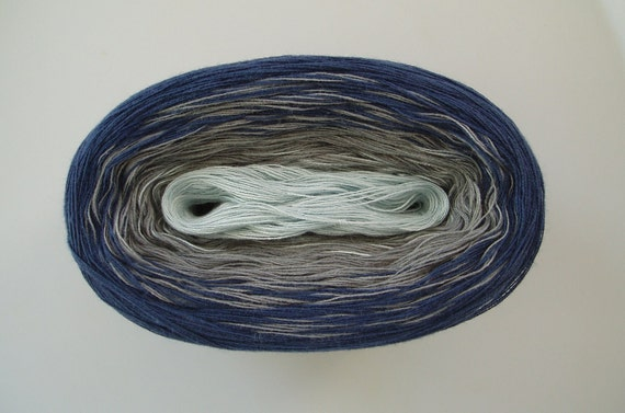 SUMMER NIGHT III  Color Changing Cotton yarn  480 yds/100 gr  Fingering Weight