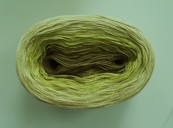 PASTURE VI  Color Changing Cotton yarn 240 yds/50 gr  Fingering Weight