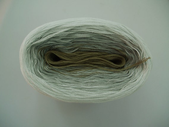 SAND II  Color Changing Cotton yarn  480 yds/100 gr  Fingering Weight