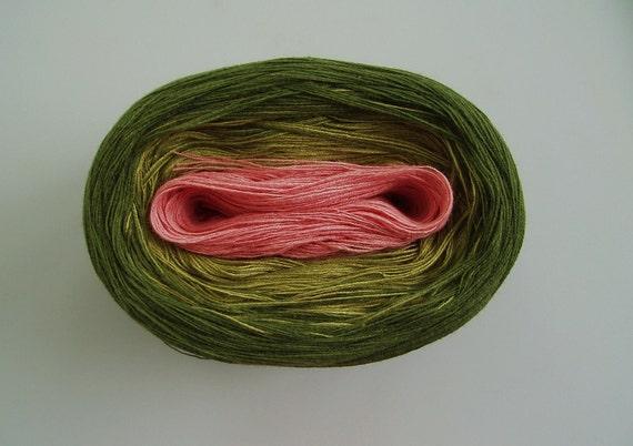 MAGNOLIA V  Color Changing Cotton yarn  480 yards/100 gr  Fingering Weight