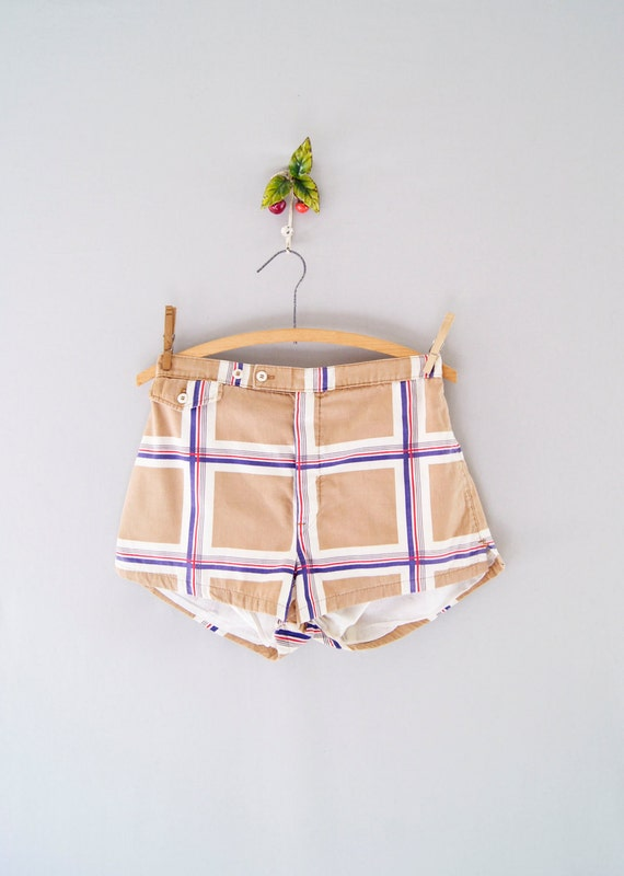 S A L E : 70s Christian Dior swim shorts // mens swimtrunks
