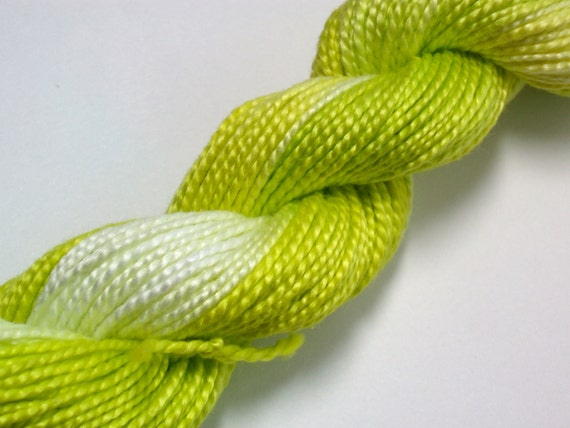 Inchworm Hand Dyed Perle Cotton Size 5