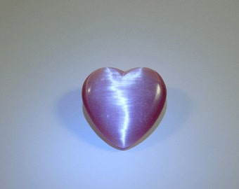 FIBER OPTIC PINK HEART