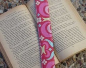 Patchwork Quilt Bookmark , quilted