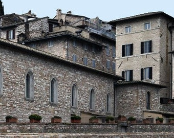 Panorama : St Francis of Assisi Italy