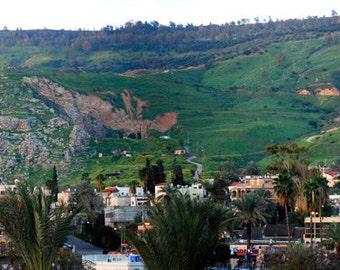 Panorama : Tiberias, Galilee, Israel