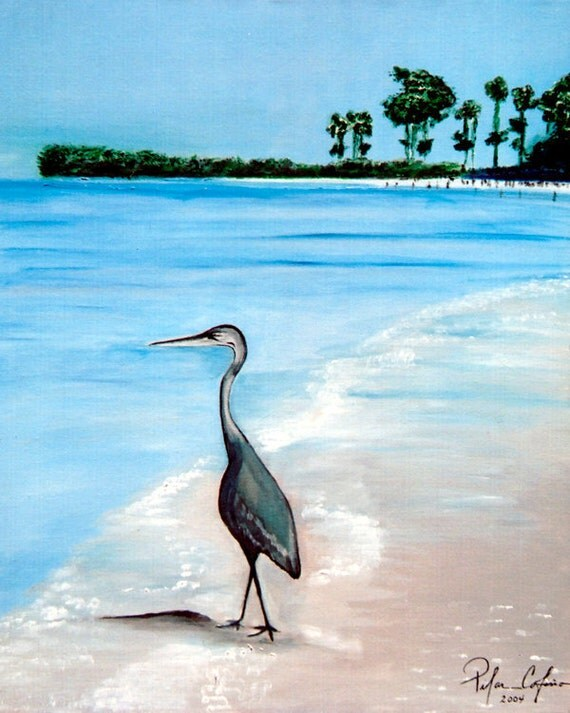 Blue Heron at Captiva Island Florida