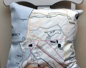 Embroidered Aberystwyth Cushion