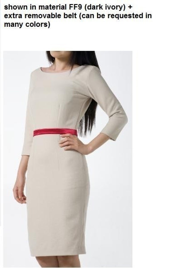 CINDY custom made pencil dress ALL SIZES made to measure