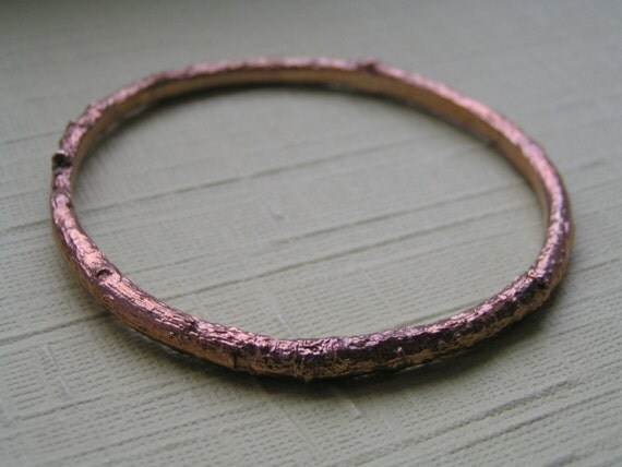 Bronze Twig Bangle