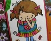 Hi There - 6X6 Handmade Card