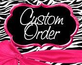 Custom Order  for kmk8