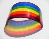 Fused glass mini rainbow custom order for Rick