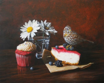 Sparrow and Cheesecake