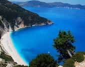 Myrtos Kefalonia Greece