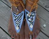 Tribal  Batik Barefoot Sandals