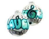 Handpainted Laughter and Music Ornament Ready to Ship