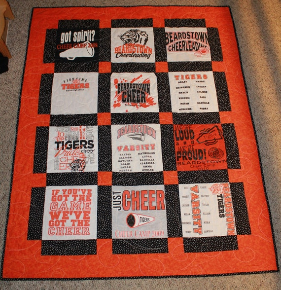 Any Size T-Shirt Quilt Made Custom for You