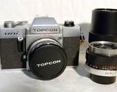 Topcon Uni 35mm Camera and Lenses