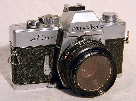 Minolta SR-T 20 135mm Film Camera