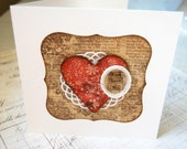 "OOAK Art Card/Collage ""You have my Heart"""