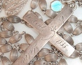 Reserved for Paulette-Victorian Nun's Cross Rosary Dated 1855