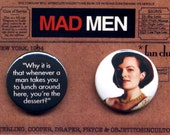 Mad Men Buttons