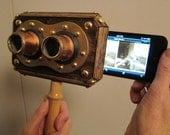 Steampunk Iphone 3D Stereoscope  Viewer