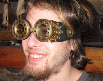Steampunk 3D goggles for 3D movies